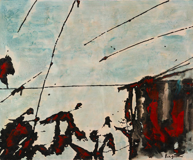 Sonaggi 166x135 Oil on canvas, 1973 New York