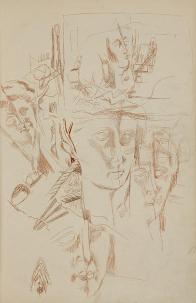 Untitled VI, 1935 pencil on paper
