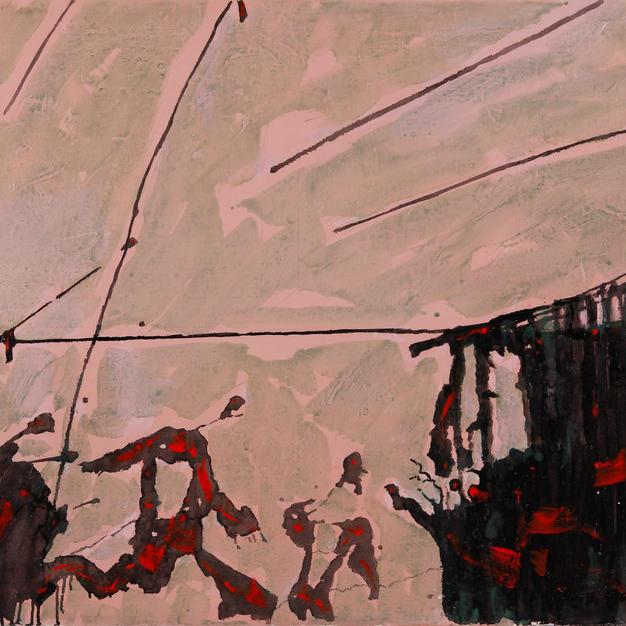 Sonaggi 102x84 Oil on Canvas 1973 New York