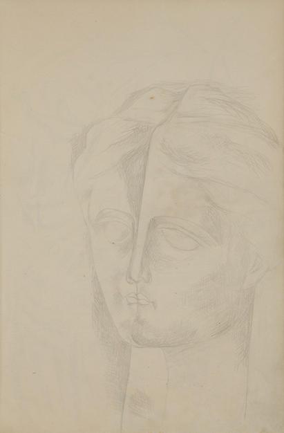 Untitled V, 1935 pencil on paper
