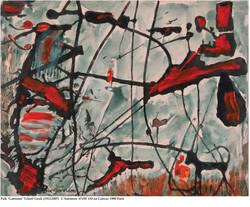 L'Automne 67x50 Oil on Canvas 1980 Paris