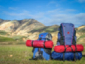 travelling daypack
