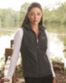 columbia vest and shirt