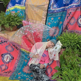 'Over the Rug' Installation for Behati