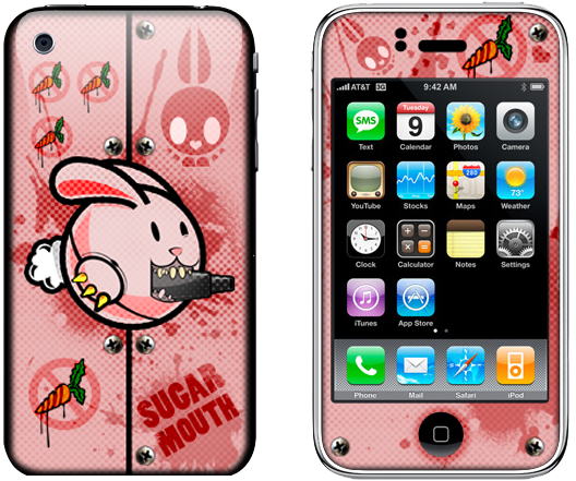 iPhone Skin Design
