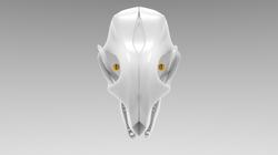 3D Creature Skull