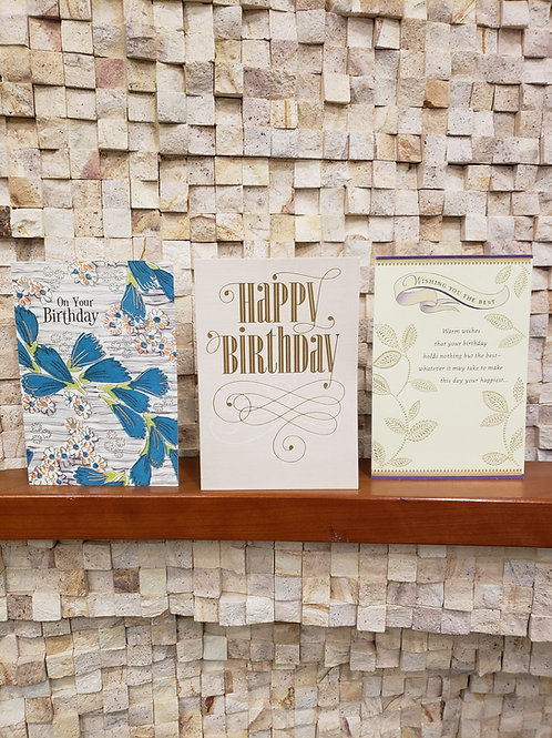 Birthday, Anniversary, Thinking of You, Holiday and other Assorted Cards
