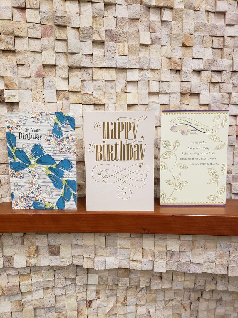 Happy Birthday Cards - SKU 182 - $2.18.j