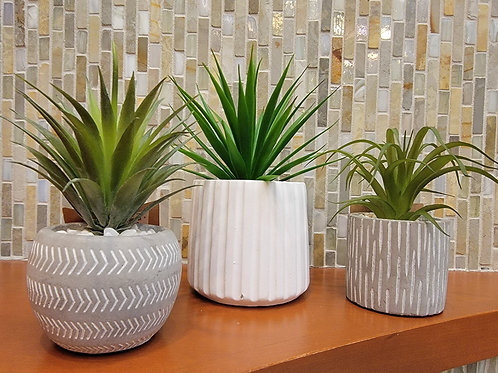 Small Artificial Potted Plant - Assorted