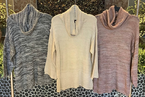 Express Wool Blend Turtleneck Sweater