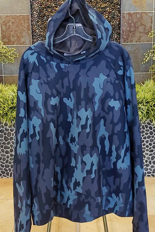 Navy Blue Camo Sweatshirt