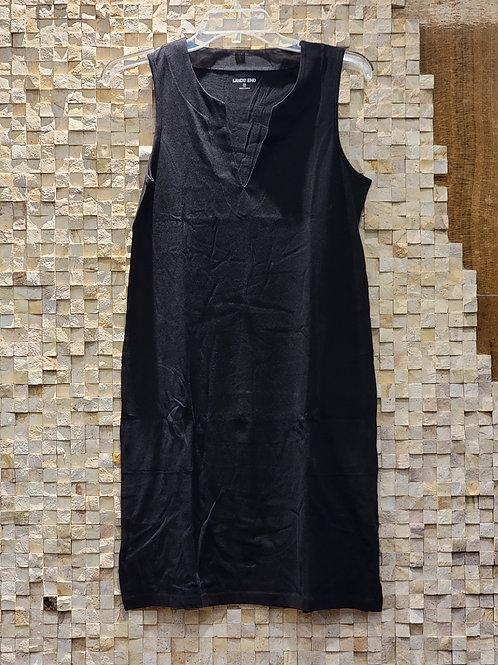 Lands' End Black Dress