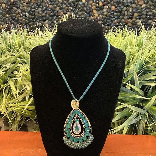 Beaded Pendant Necklace