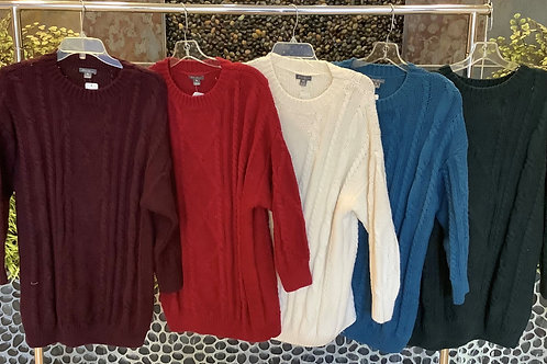 Eddie Bauer Thick Cable Knit Sweaters