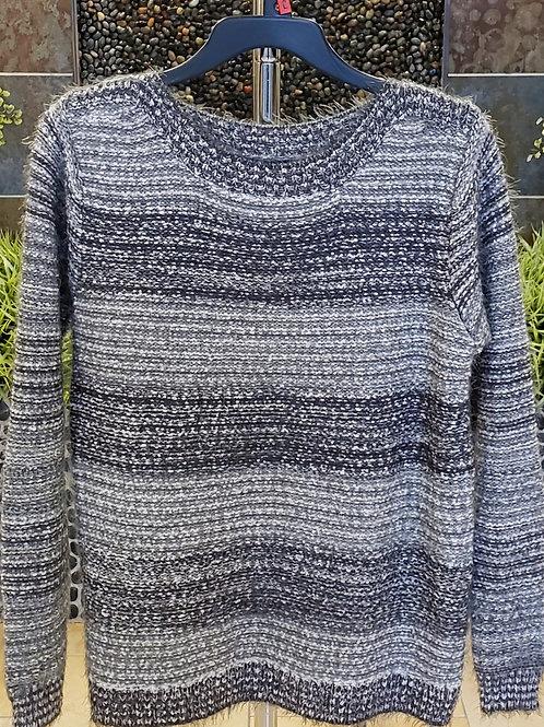 Grey & White Sweater