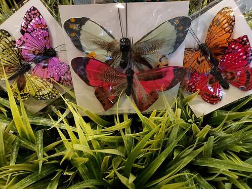 Assorted Butterfly Decorations