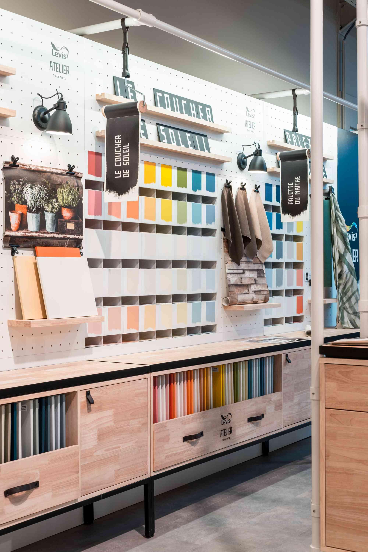 Kleurechte stalen Levis Atelier