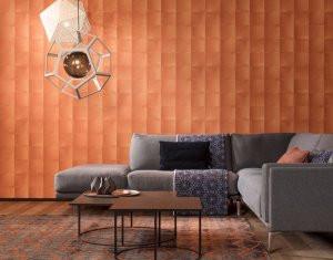 Arte hookedonwalls behang in living