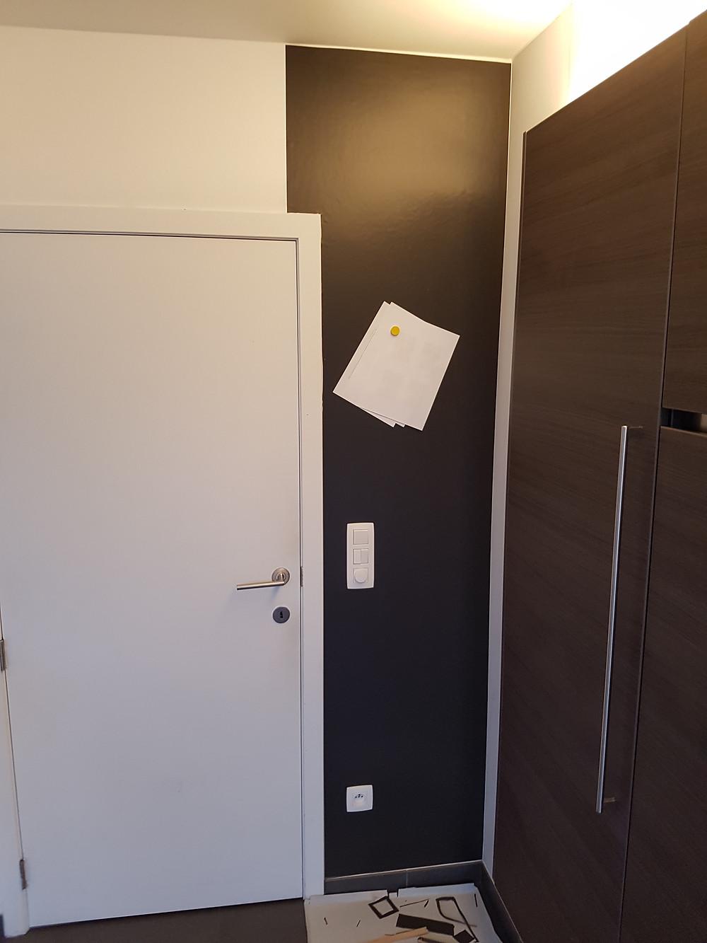magneetbehang tegen muur Deckers Interieur