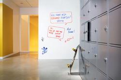 Whitebord-effect op muren