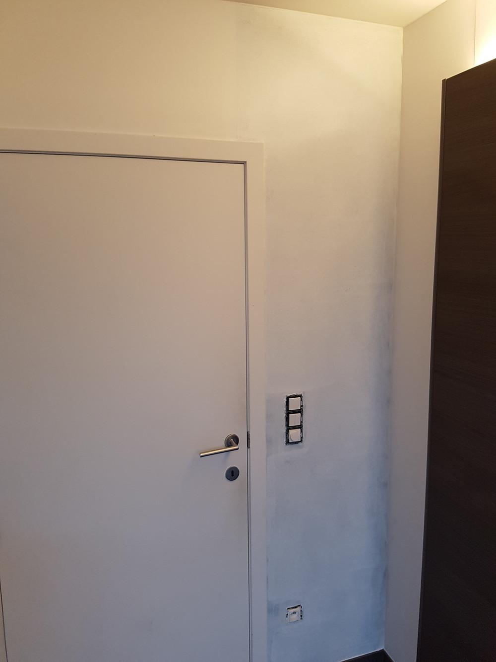 1 laag verf magneetbehang