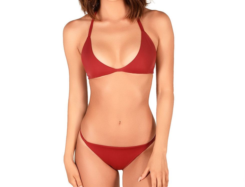 Maroon Triangle Set