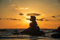 阿久根の岩
