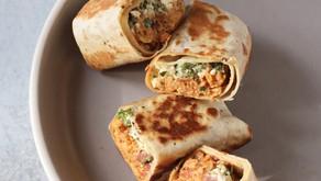 Potato Shakshuka Burrito