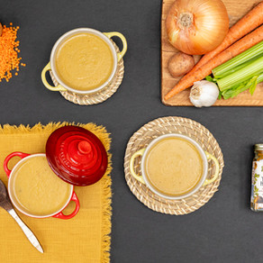 Vegetable Soup with a Kick