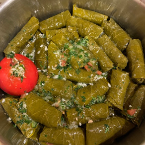 Tangy Grape Leaves