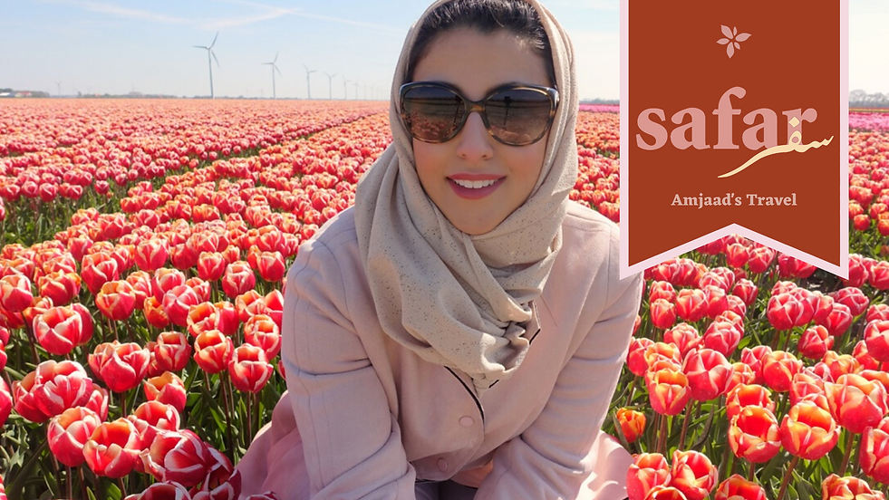 Amjaad's Safar (aka Travel) tips and rec