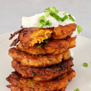 Sweet Potato & Chickpea Fritters