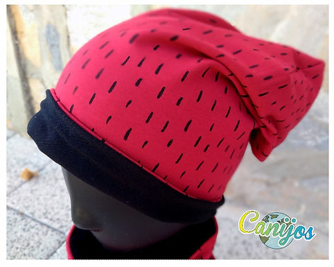 PACK GORRO REVERSIBLE+ BRAGA