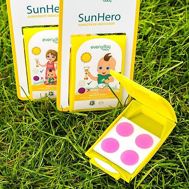 Indicador protección solar Sun Hero