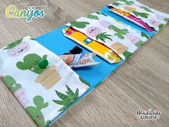 Necesere menstrual con diseños personalizados Canijos Kids & Zero Waste