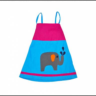 Vestido tirantes elefante PACHAMAMA