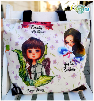 TOTE BAGS. Personajes
