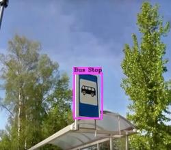 Детекция дорожных знаков
