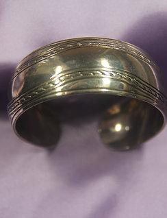 Smooth Silver Bracelt