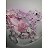 Marquise Cut Pink Topaz ,white Topaz