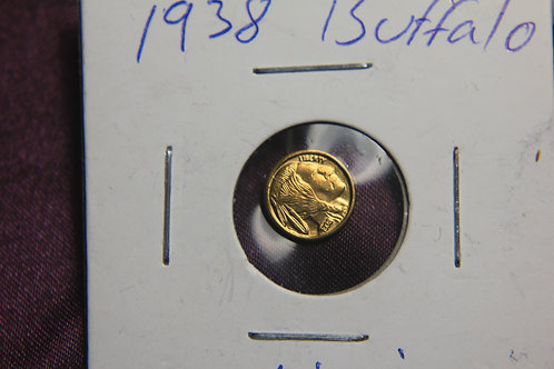 1938 Buffalo Nickle Gold Mini