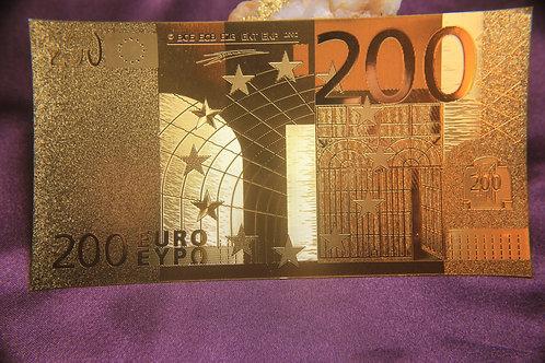 .9999 24 kt gold 200 EURO