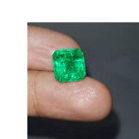 Certified  Colombian Emerald