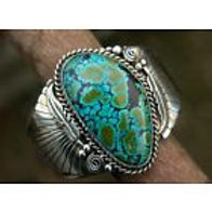 925 Silver Natural Turquoise Women or Men