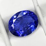 OVAL BLUE TANZANITE