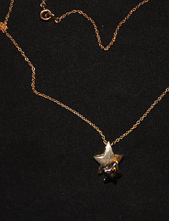 Twin Star Necklace