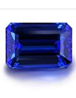 BLUE TANZANITE CUSHION GEMSTONE