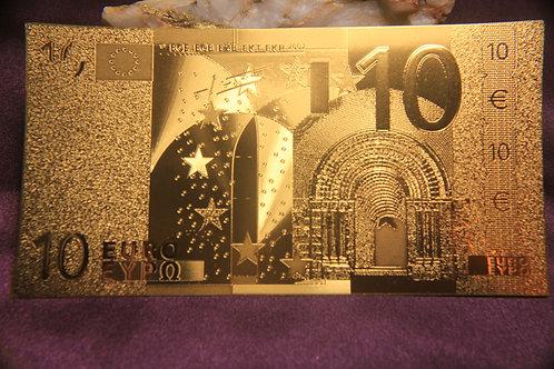.9999 24 kt gold 10 EURO