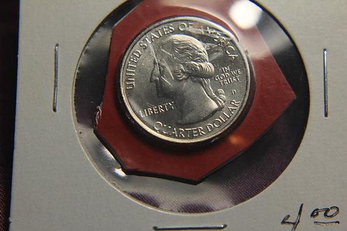 2012 D  Proof Denali Quarter