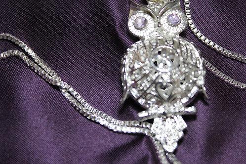 .925 Silver Owl